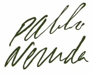 Pablo Neruda's Signature