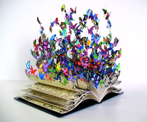 pop up book art