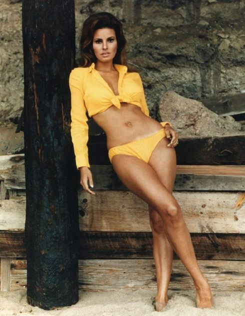 Raquel Welch Mustard Yellow