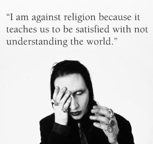 Marilyn Manson Religion