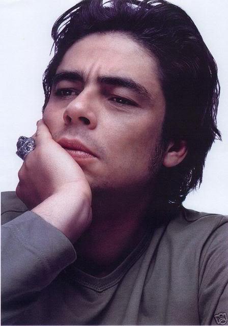 Benicio del toro is a chameleon