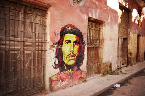 Che Guevara Grafitti in Habana Cuba