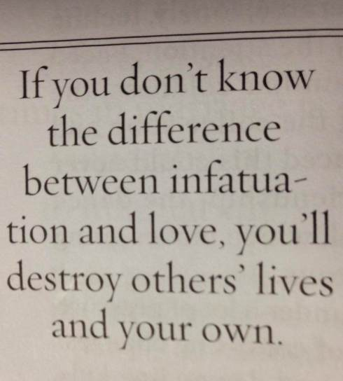 Infatuation Vs. Love
