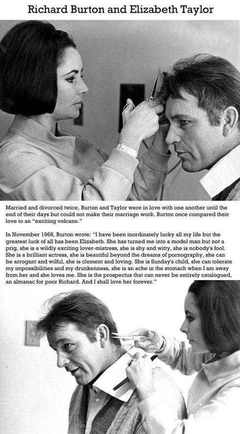 Richard Burton Elizabeth Taylor quote