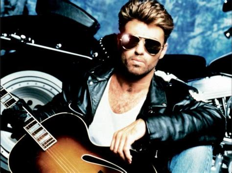 George Michael With Guitar